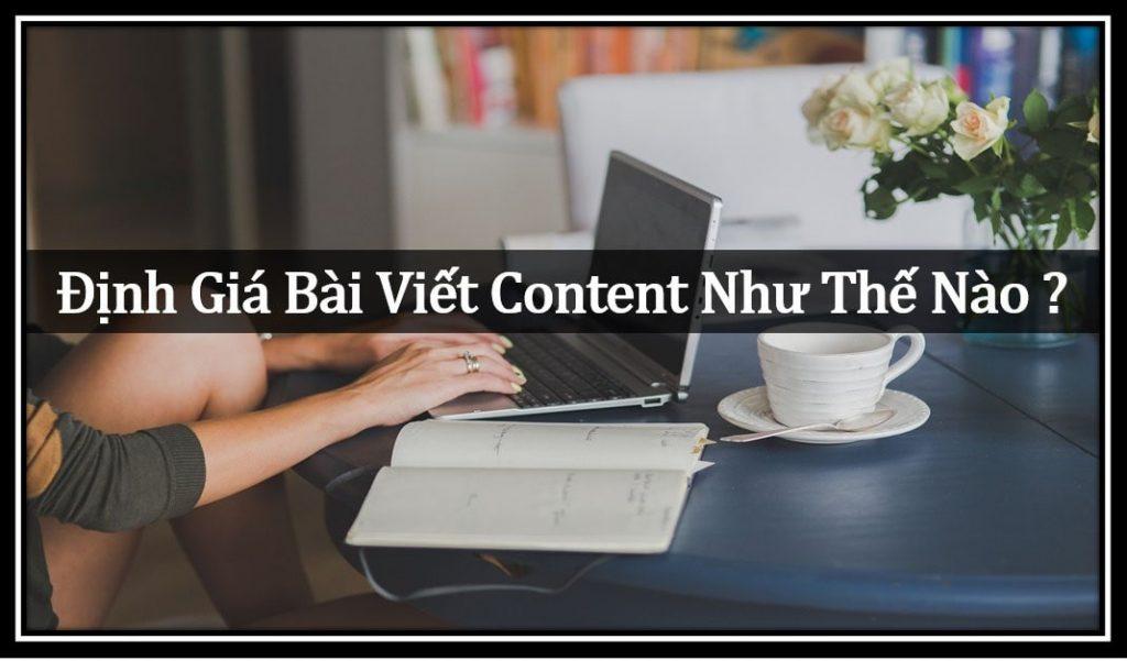 Định giá bài viết content như thế nào ?