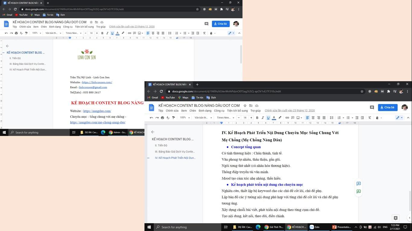 Kỹ năng của người viết content